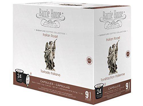 cool Barrie House Italian Roast Single Cup Capsule (24 Capsules) Reviews