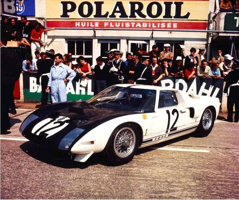1964 Ford Gt 40 Ford 4 181 Cc Richard Attwood Jo Schlesser