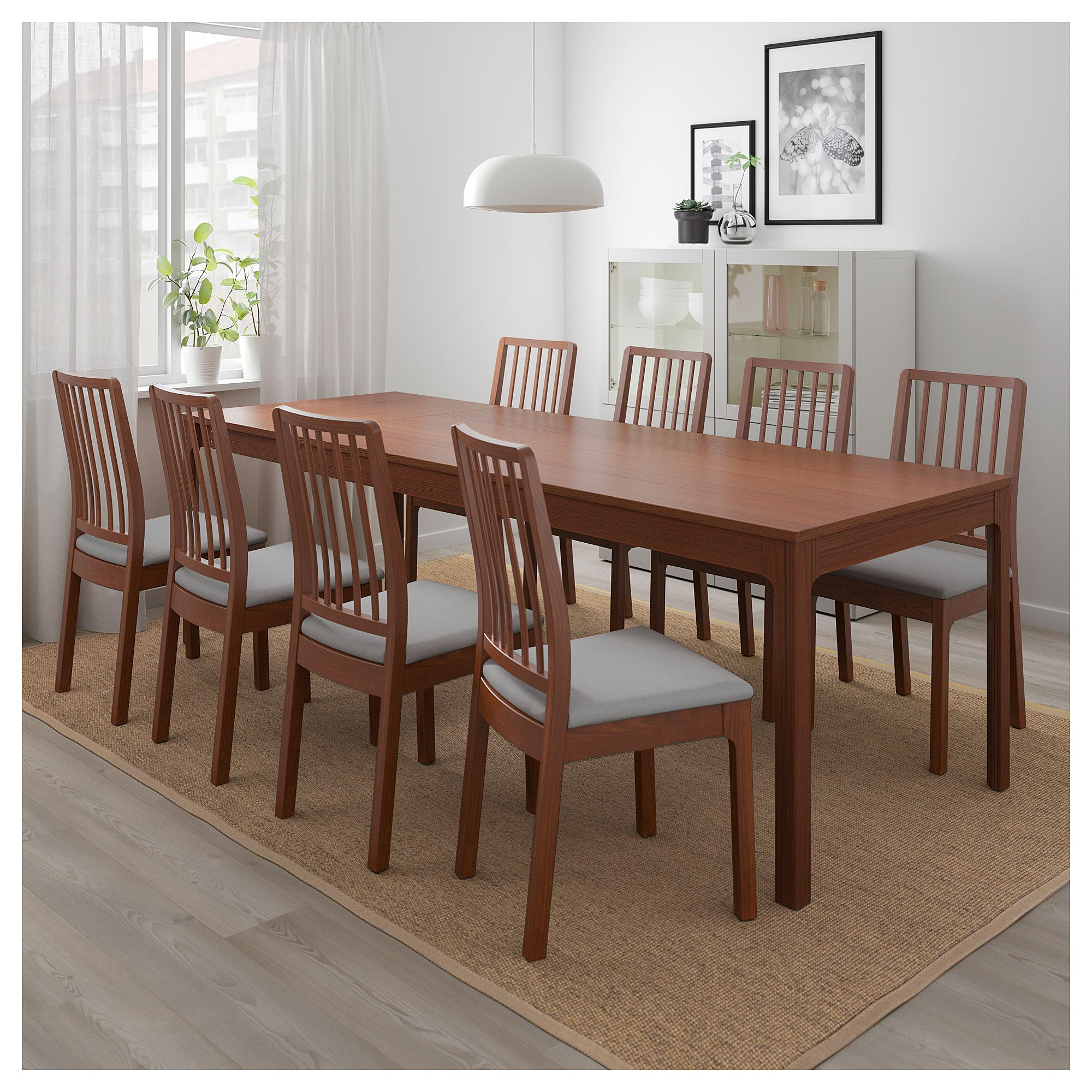 Ikea Ekedalen Extendable Table Brown Future House Ikea Dining