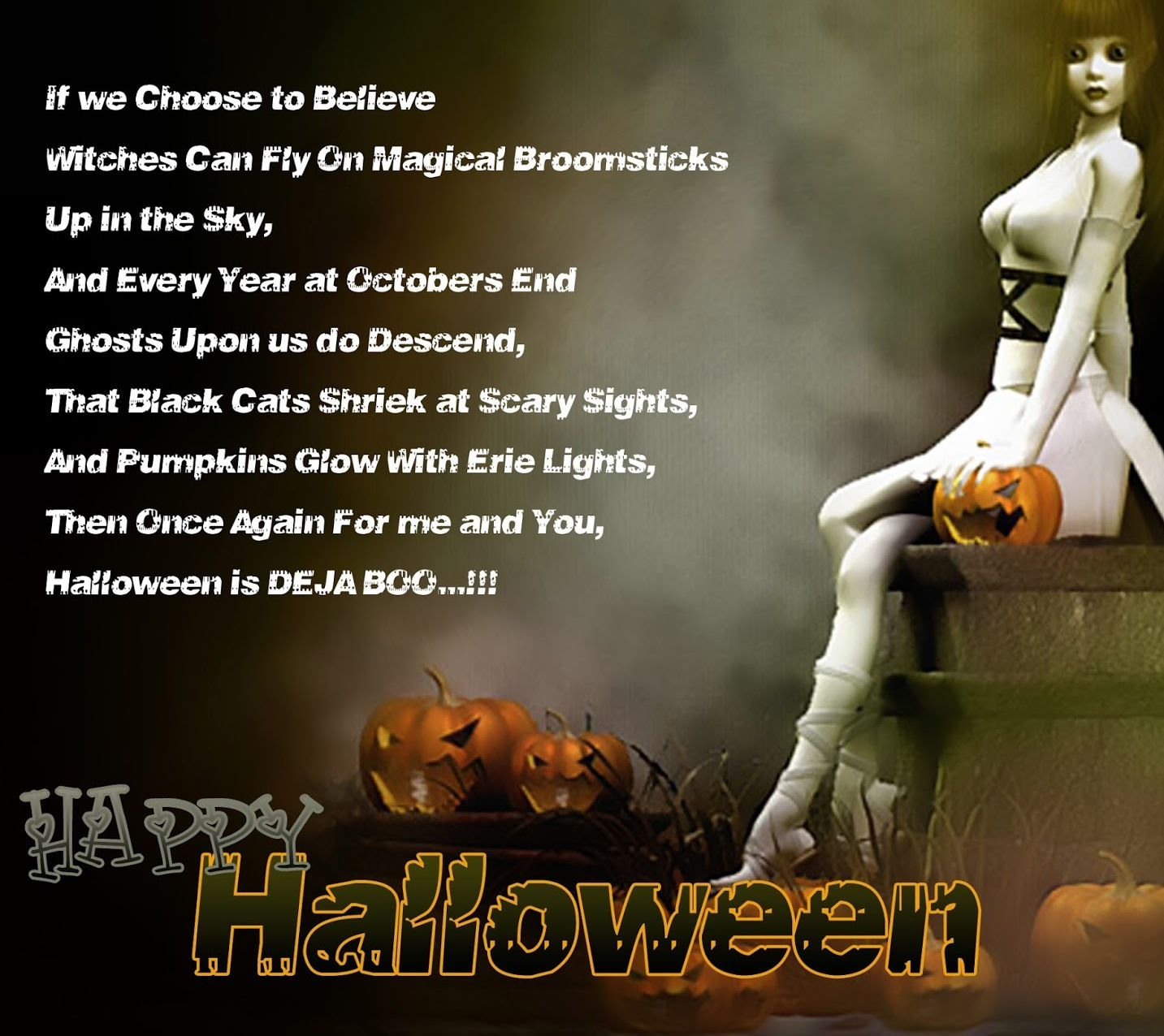 Happy Halloween Quotes Funny: Happy Halloween Poems For Adults