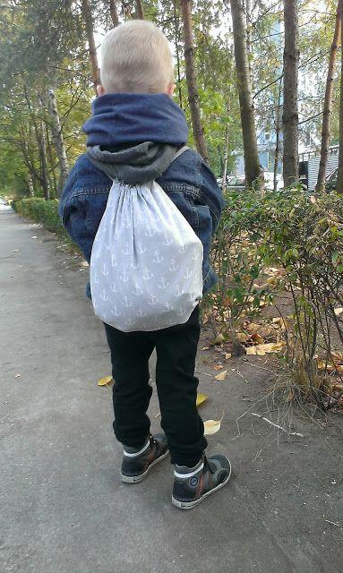 Diy Jak Uszyc Worek Na Kapcie Wyprawka Dla Przedszkolaka Boots Laundry Bag Winter Boot