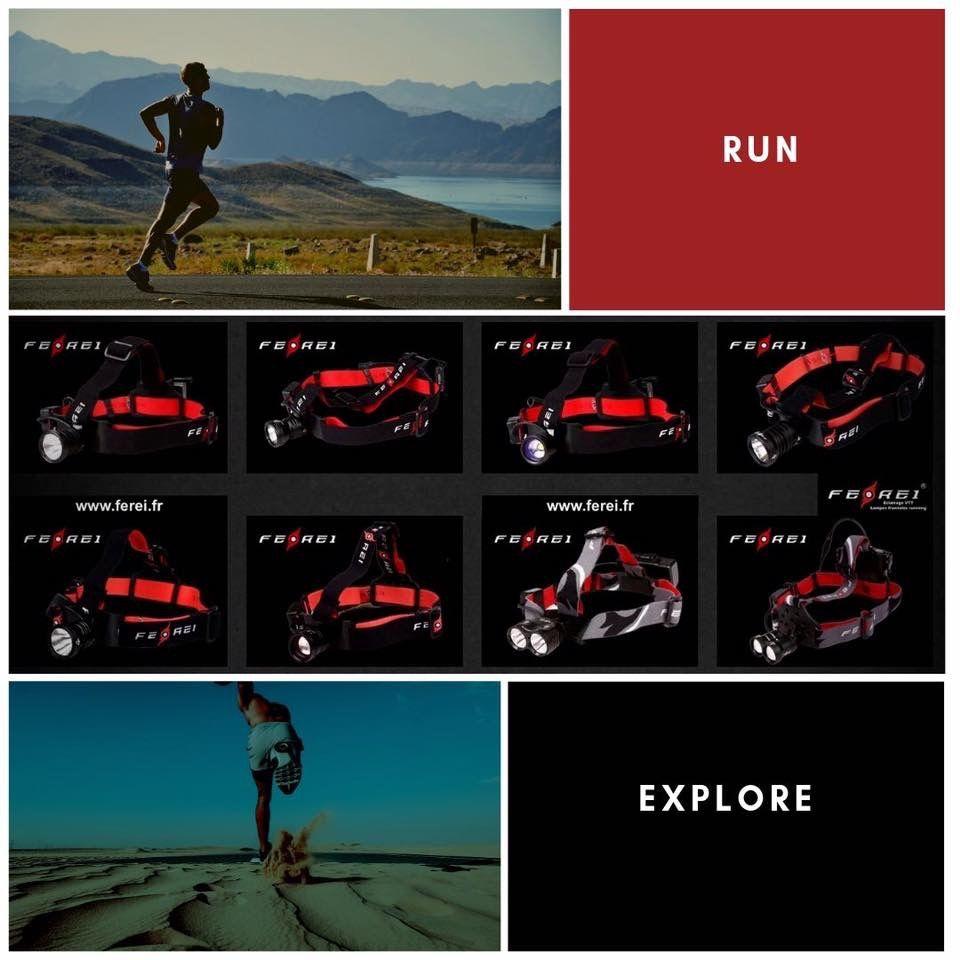 Trail Running Courez De Nuit Avec Les Lampes Ferei Avec Images Lampe Torche Led Lampe Frontale Torche Led