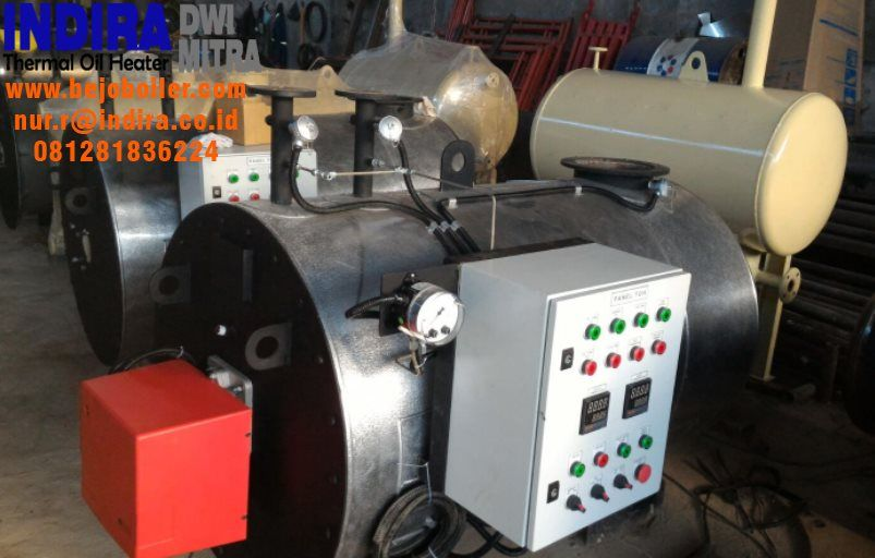Thermal Oil Heater 200 Mcal H 6000 Mcal H Produk Indonesia