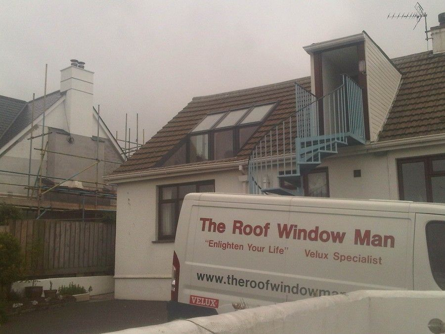 Built Directly Into The Lowest Part Of Your Roof, The VELUX Roof Terrace  Helps You Make The Most Of Your Unused Roof Space Without Compromising The  Size Of ...