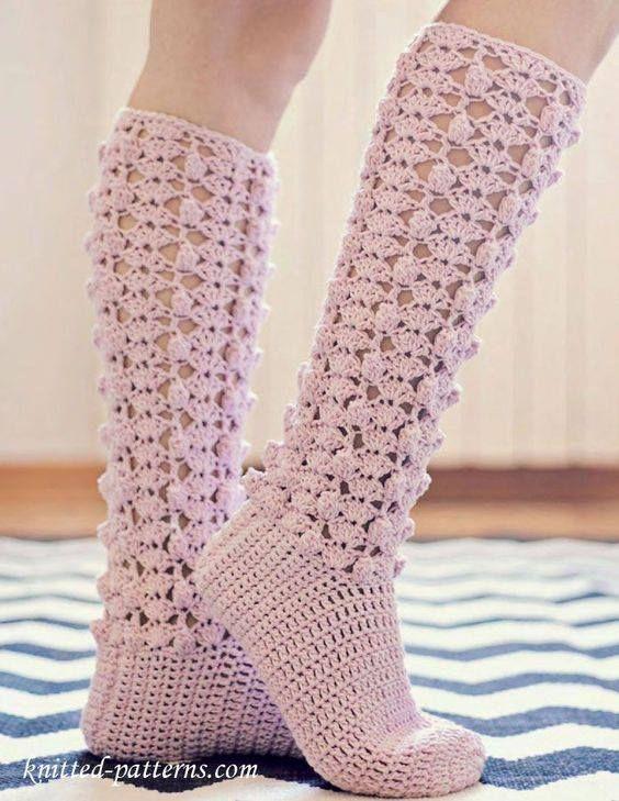 Pin de Delia Creativa en sosete tri | Pinterest | Crochet zapatos y ...