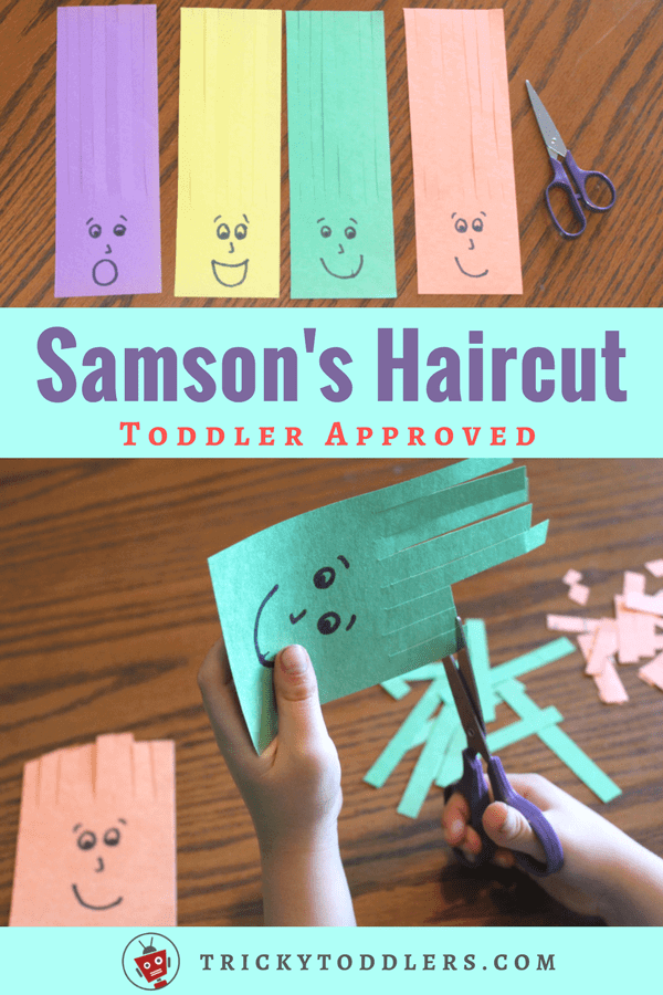 Scissors Practice Activity Samson Haircuts   Scissors Practice Activity Samson Haircuts Children Personalized Preschool Learning Scherenübungsaktivität SamsonHa...