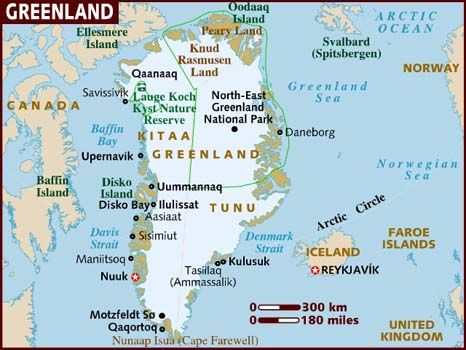 CopenhagenNuuk Greenland Voters on Greenland the worlds