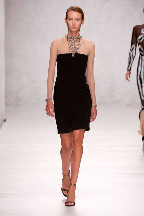 Marios Schwab Spring 2014 Ready-to-Wear Runway - Marios Schwab Ready-to-Wear Collection