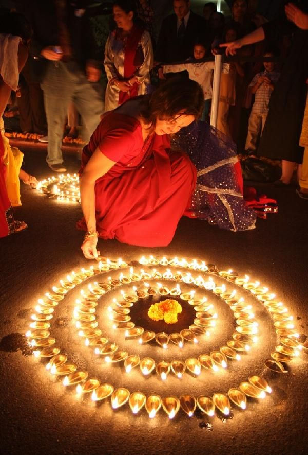 ideas for diwali decoration at home