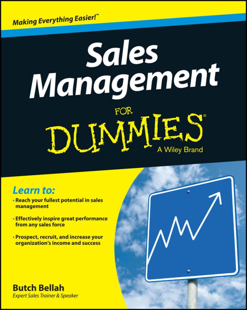 Sales Management For Dummies (eBook) Dummies book, Sales