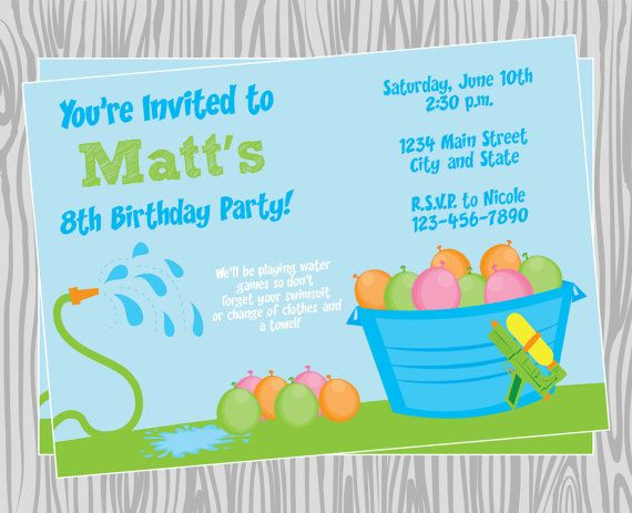 doc.#: water party invitations – 17 best ideas about water party,