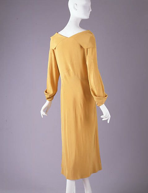 Madeleine Vionnet | Afternoon dress | French | 1931–32