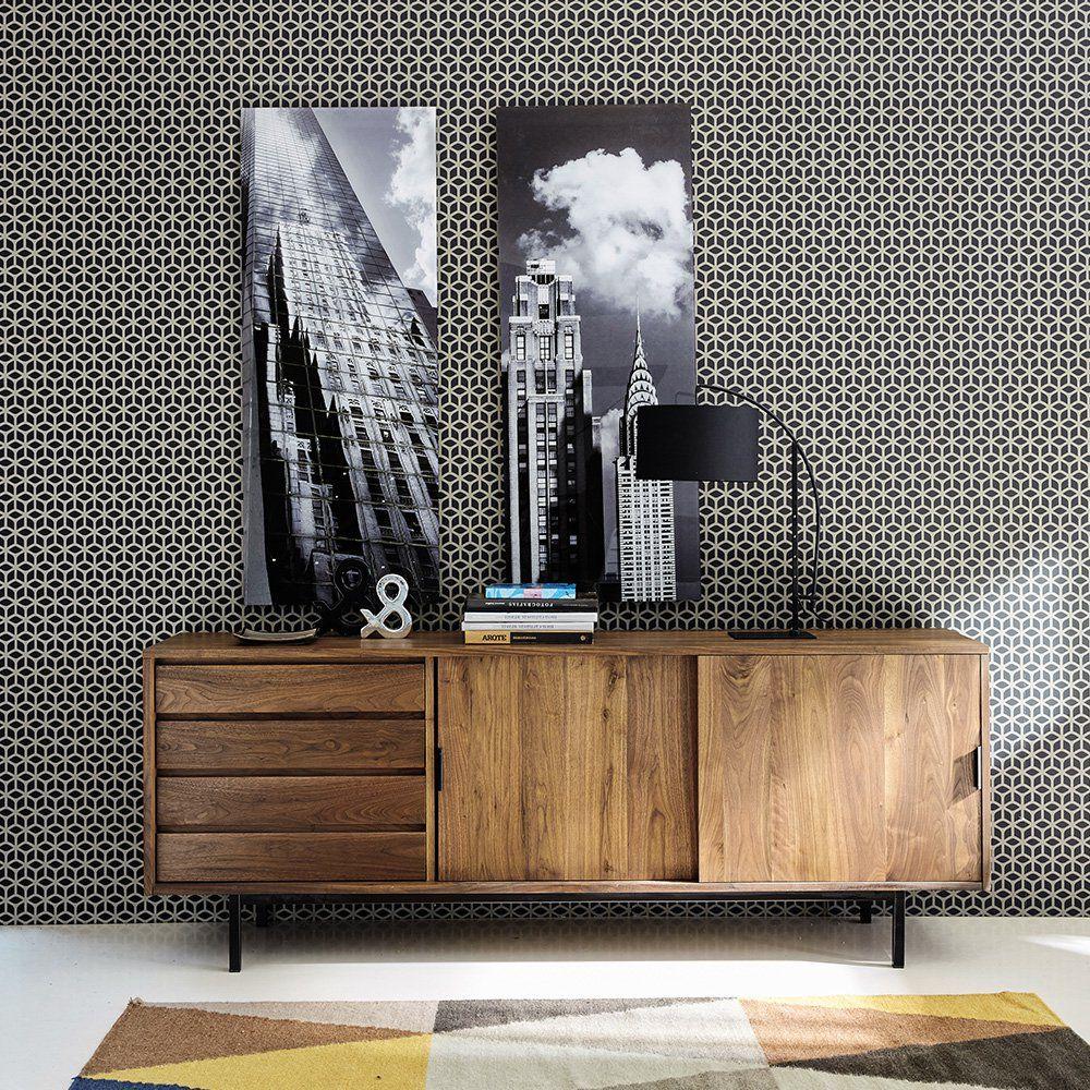 des buffets en enfilade pour ranger avec style maison. Black Bedroom Furniture Sets. Home Design Ideas