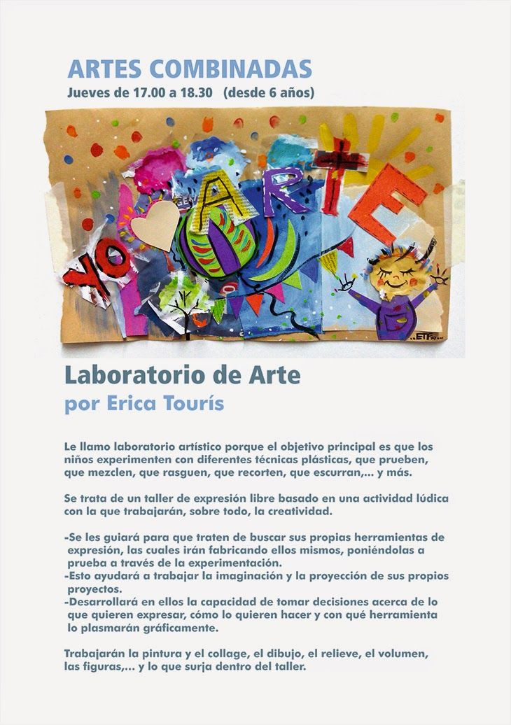 ericatfresco - Arte y Diseño: ¡¡LABORATORIO DE ARTE PARA CHICOS!! EN ESPACIO ALA...