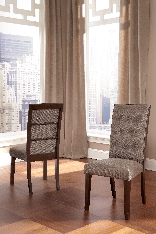 Ashley Furniture Dining Room Table Set: Ashley Larimer D654-01 Millennium Dining UPH Side Chair (2