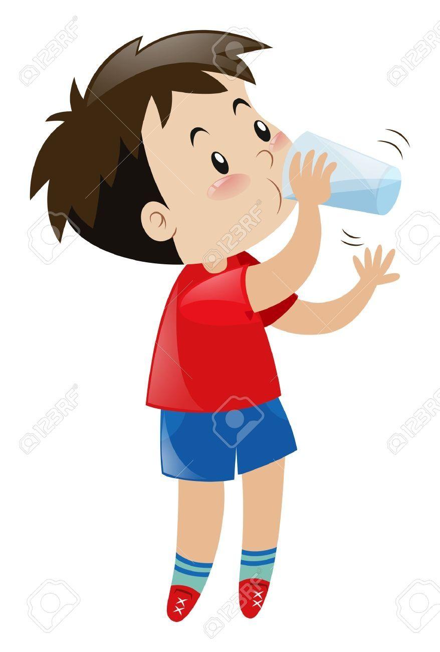 Drink Water Clipart Cartoon Clip Art Clip Art Water Kids