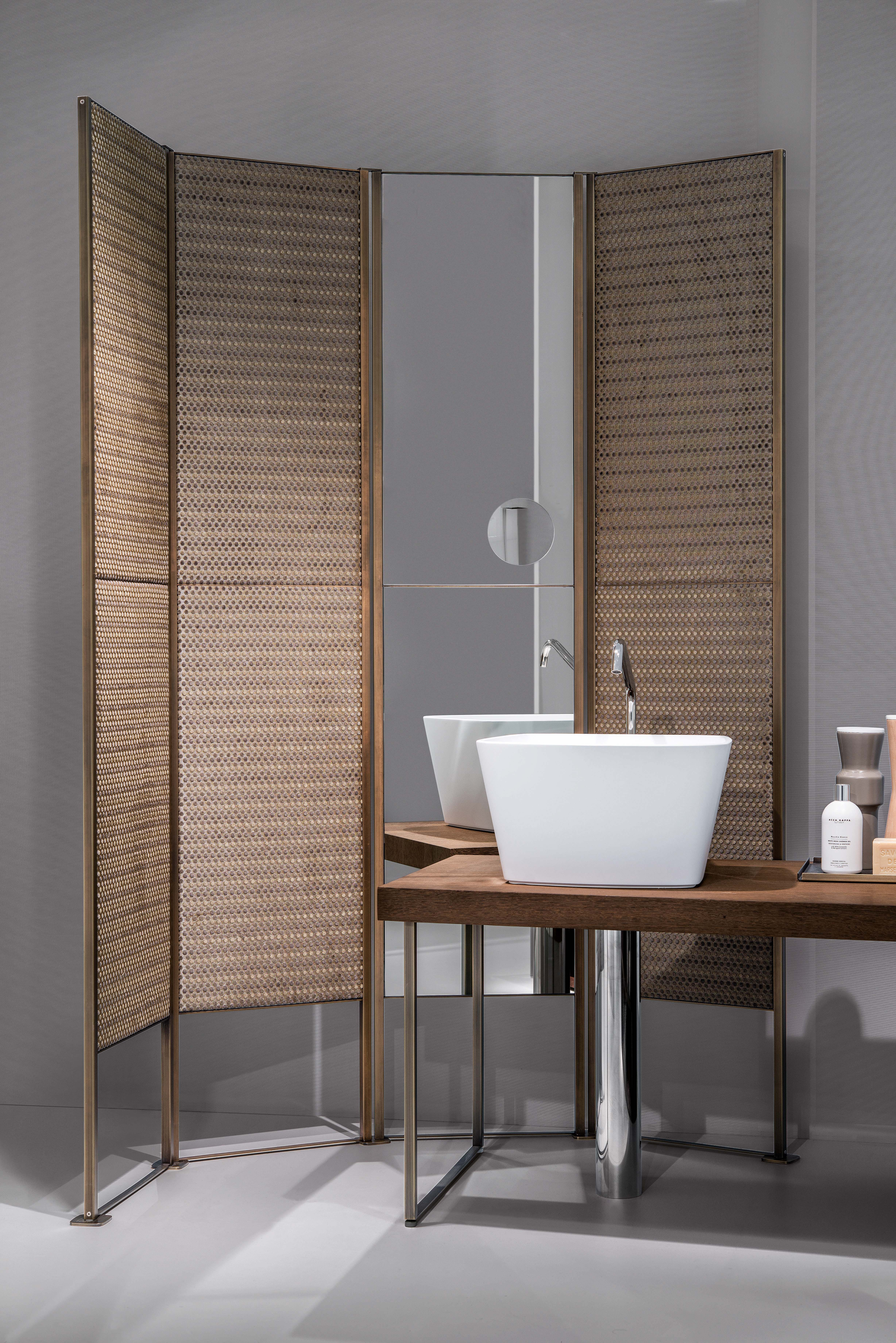 Inexpensive Room Separators Exit Coper: SHADE Is A Customizable Folding Screen Which Becomes An