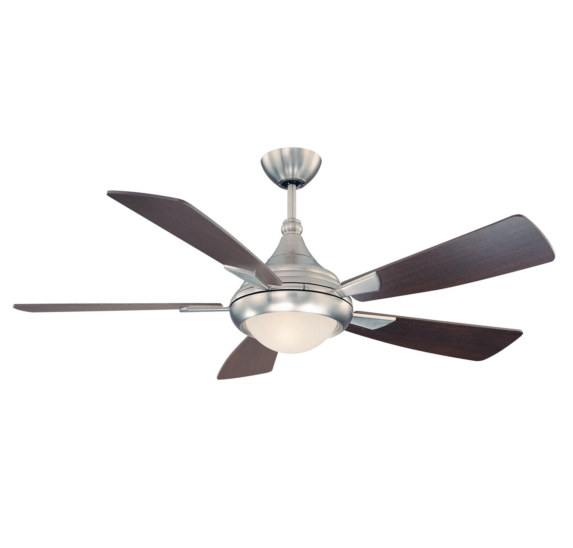 "Savoy House Zephyr 54"" Indoor Ceiling Fan in Satin Nickel"