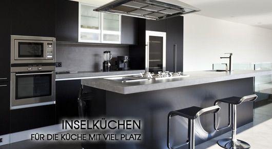 Insel Küchen online günstig kaufen, ... | Mobello.de | kitchen ...