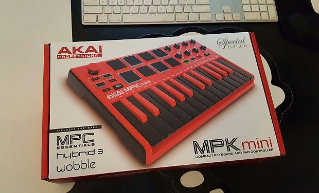 Akai MPK Mini MkII Special Edition RED Midi Controller (NEW