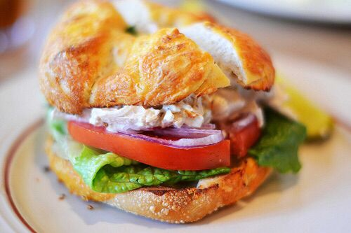 Chicken Salad Sandwhich from Osceola Street Cafe