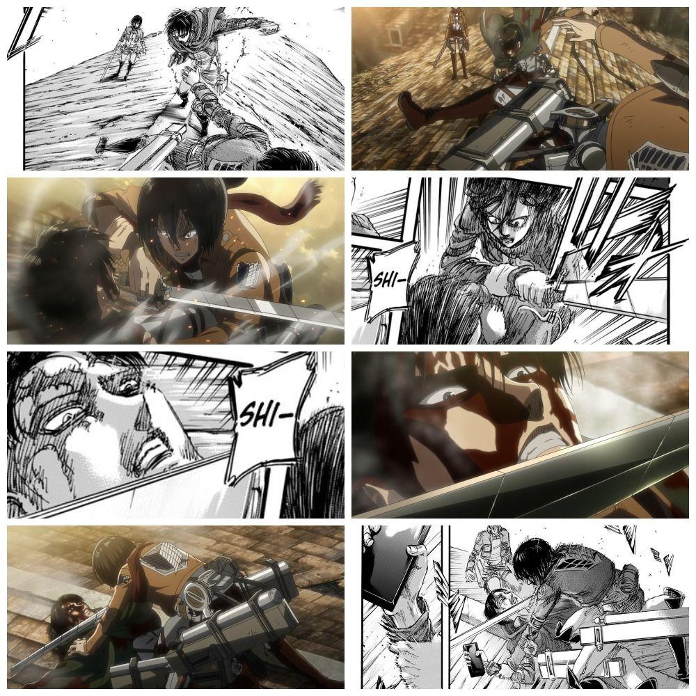 Snk Anime / Manga Manga vs anime, Anime, Attack on titan