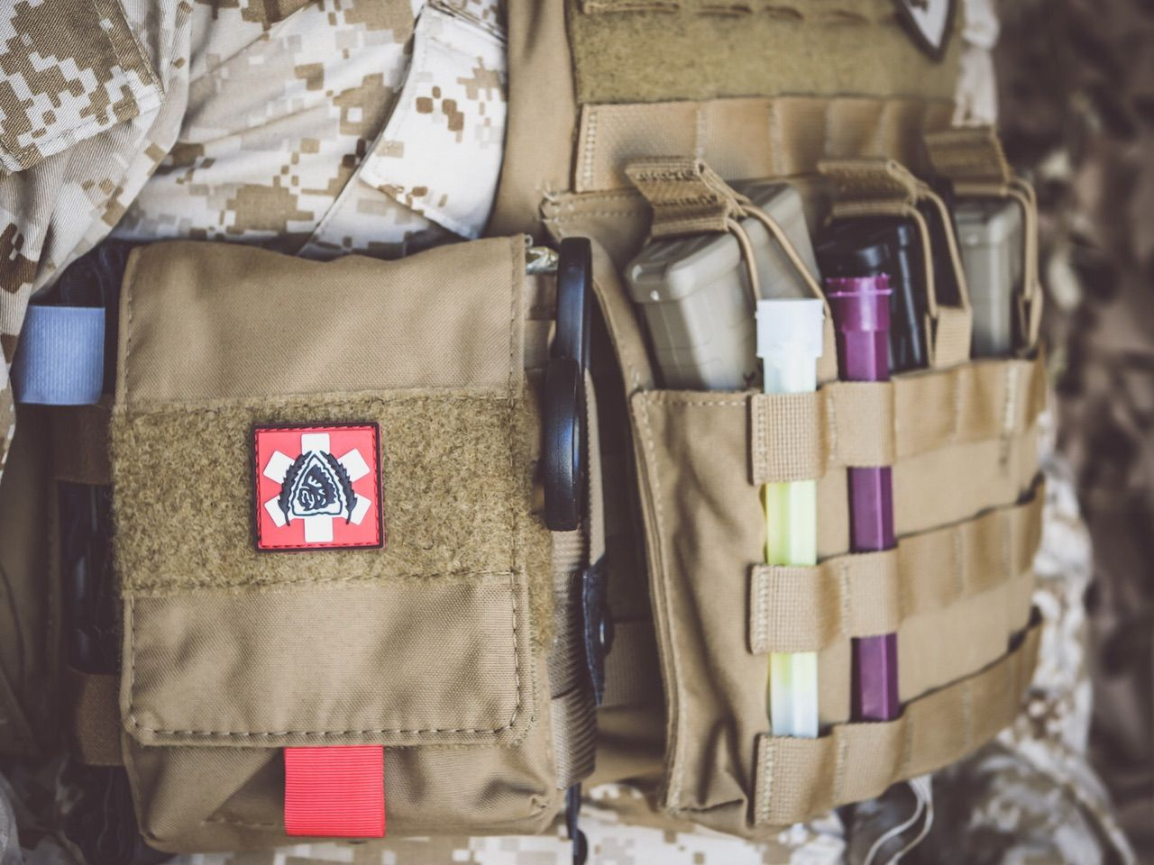 The Medical Deployment Pouch    ease of access to vital