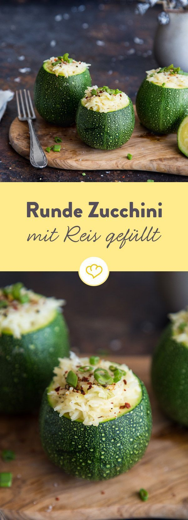 runde zucchini gef llt mit reis und scamorza rezept salate pinterest zucchini reis und. Black Bedroom Furniture Sets. Home Design Ideas