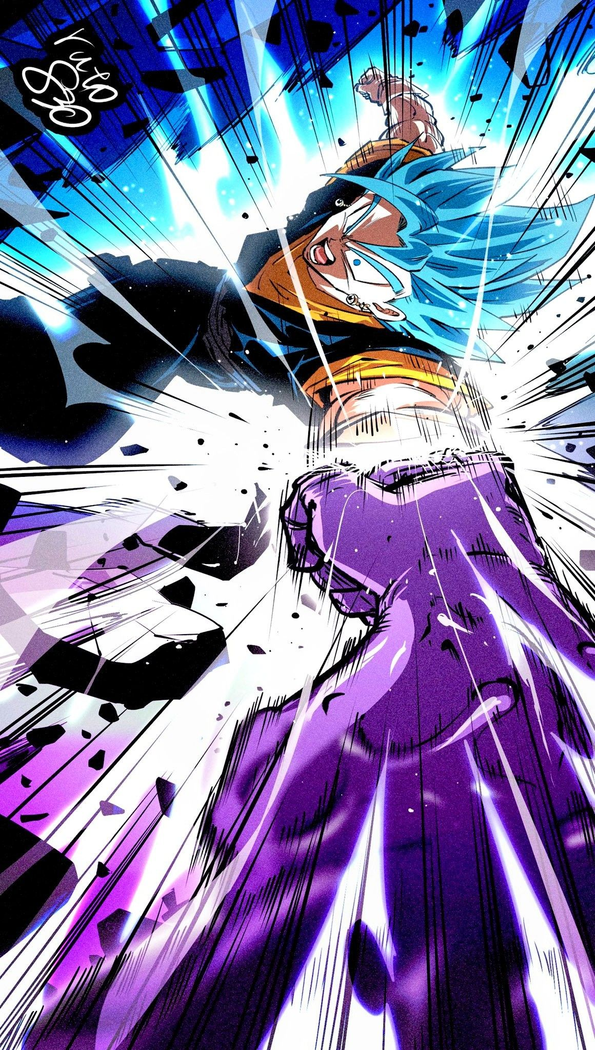 Vegito Blue Vs Fusion Zamasu Zamasu Perspective By Ruto830 Anime Dragon Ball Super Dragon Ball Artwork Dragon Ball Image