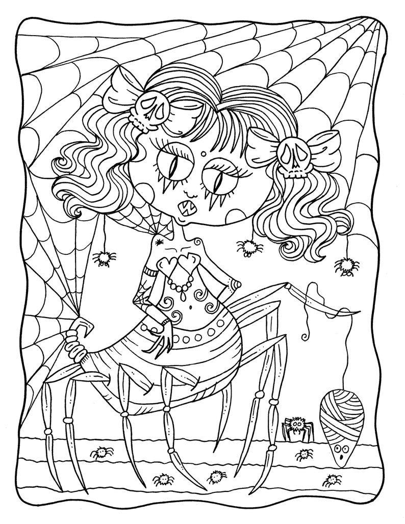 Misfits Digital Coloring Book Pdf Printable Coloring Pages Halloween Freaks Creepy Cute In 2021 Coloring Books Coloring Pages Printable Coloring Pages