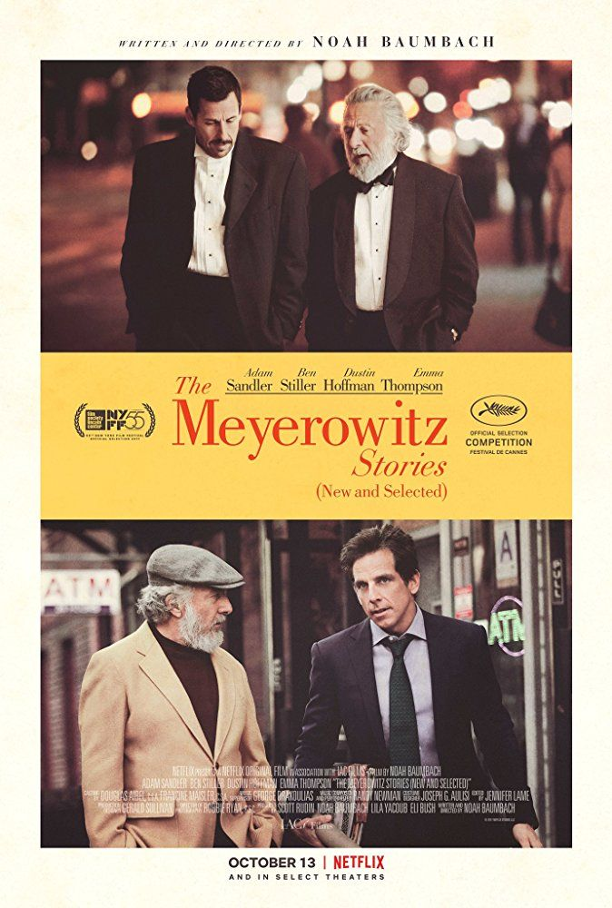 Watch online The Meyerowitz Stories 2017 1080p WEBDL using