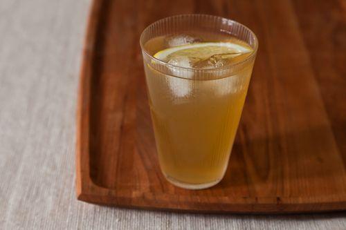 // Gingered Lemon Punch