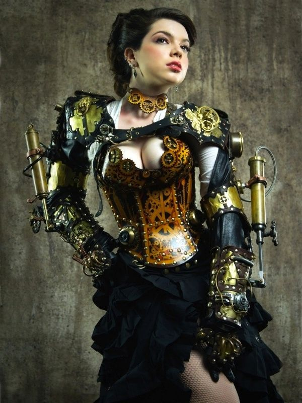 Sexy steampunk outfits