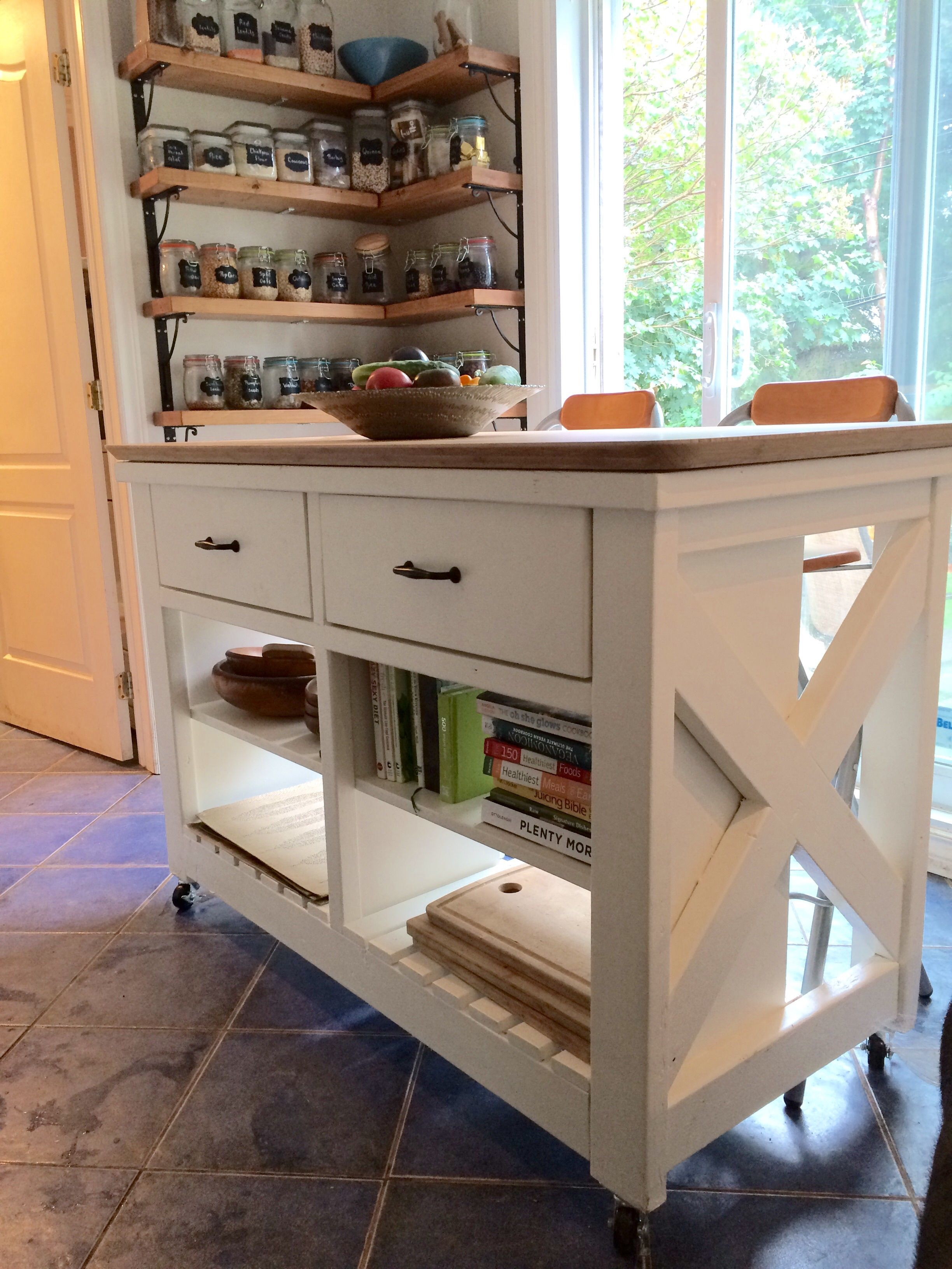Do It Yourself Home Design: Kitchen Island; Ana-white Design