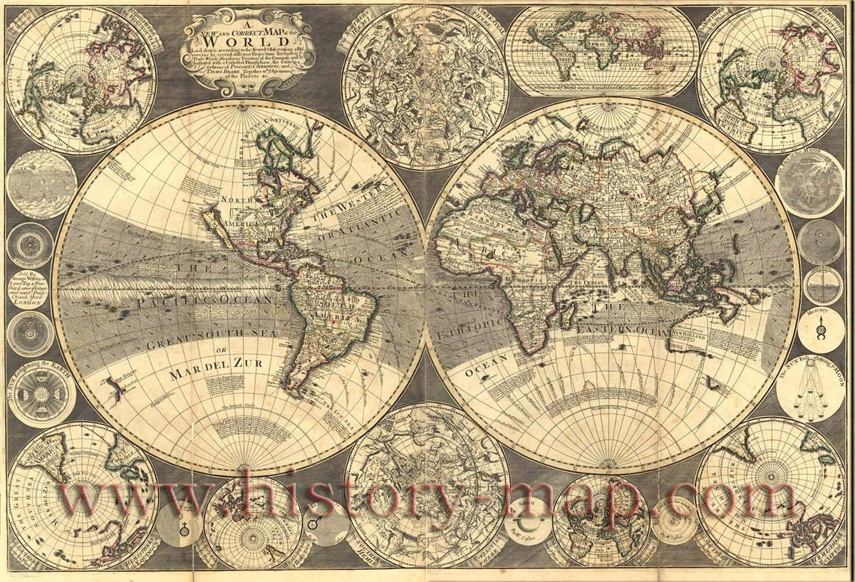 Correct Map of the World   maps   Pinterest Correct Map of the World