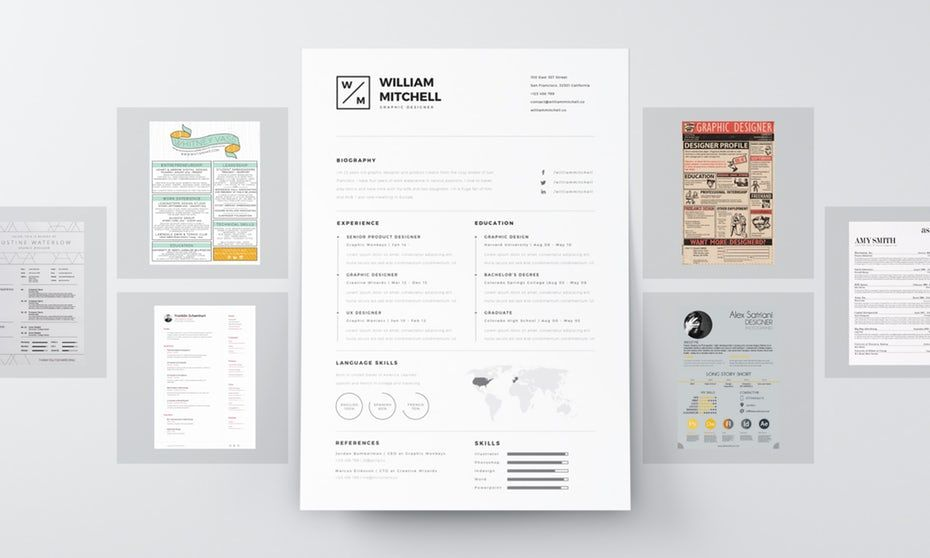7 Resume Design Principles That Will Get You Hired Resume Design