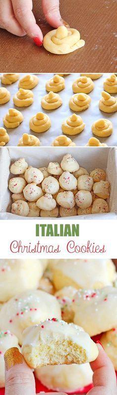 Italian Christmas Cookies Recipe Cookie Magic Pinterest