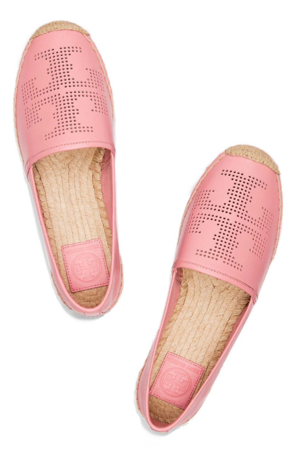 Shoe bag · Tory Burch Perforated Logo Espadrille