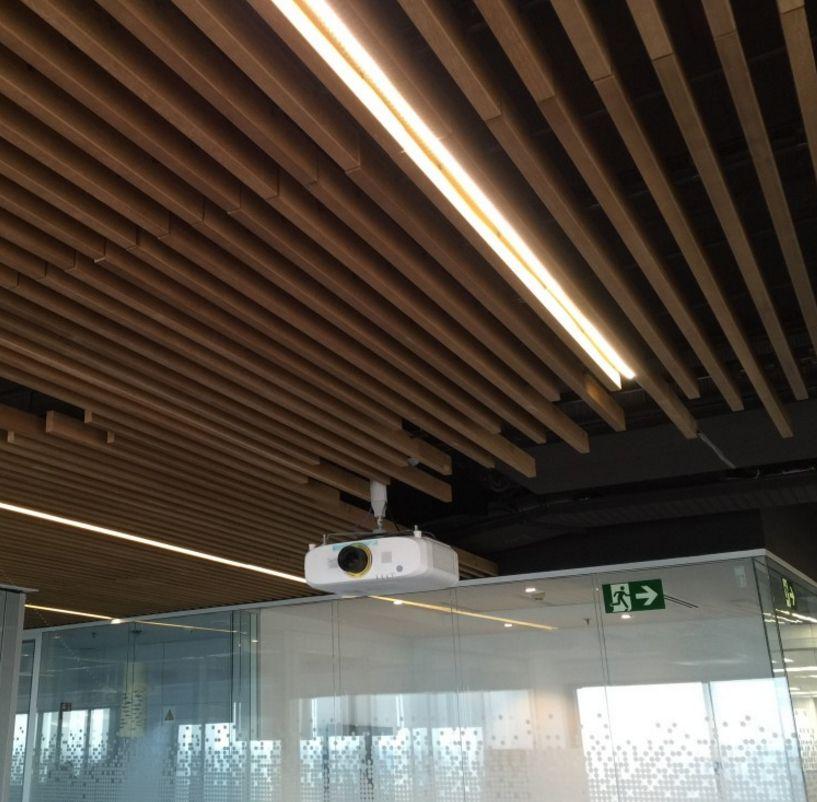 Techos de dise o spigoline arq techos techos de - Techos falsos de madera ...
