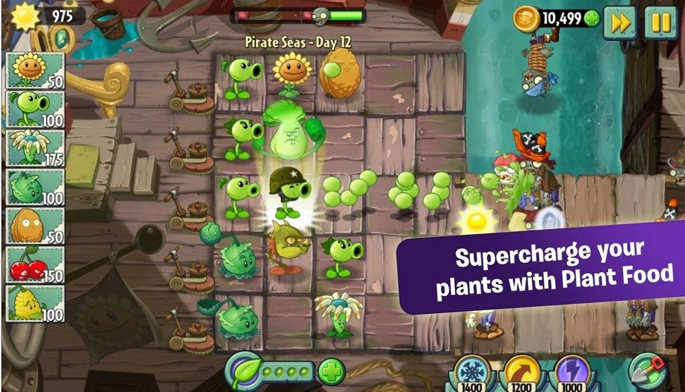 download game plant vs zombie mod apk android 1