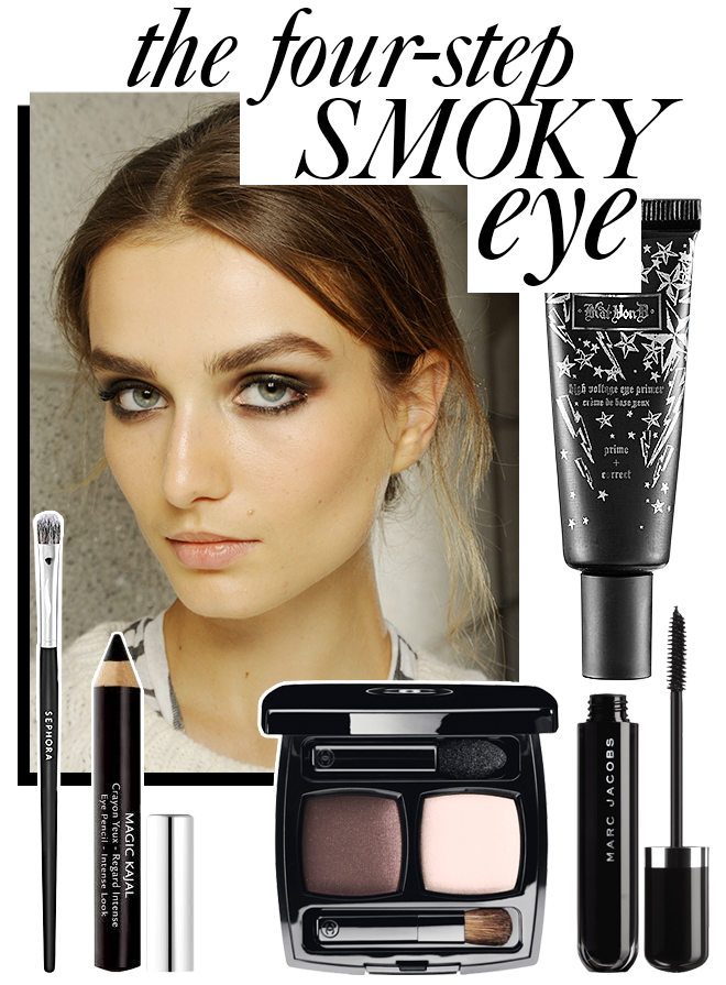 The Easiest Way to Apply a Smoky Eye