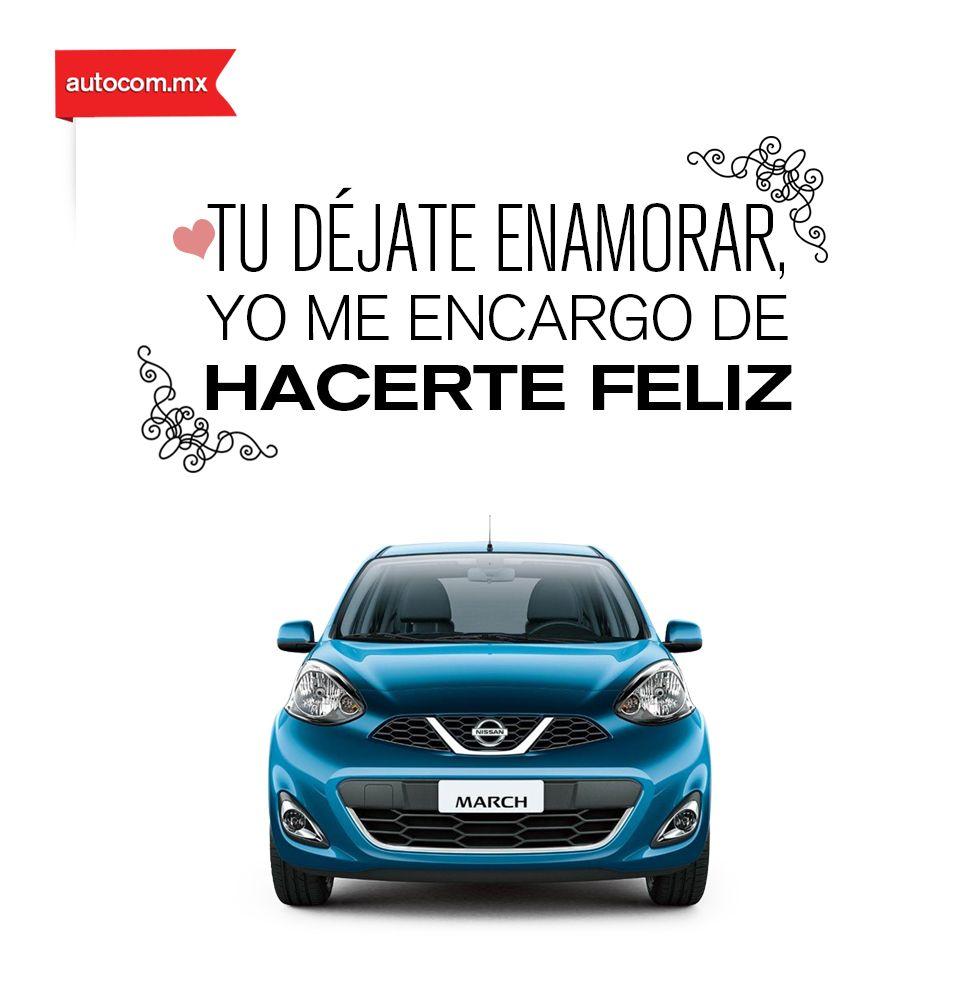 Dulces palabras de un Nissan para su dueño. Nissan