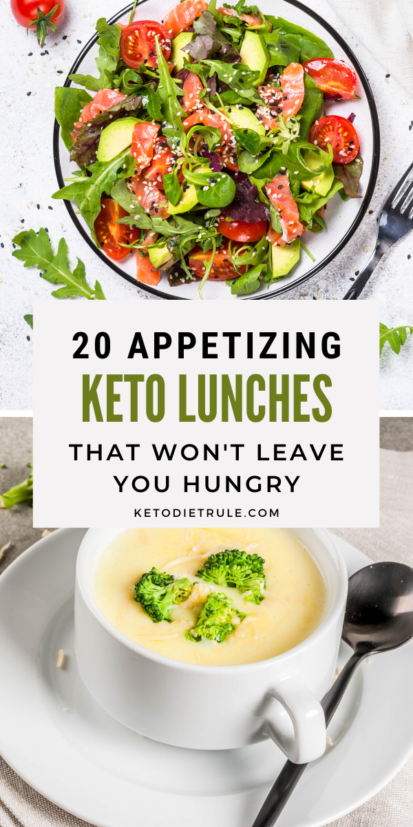 Photo of 20 Appetizing Keto Lunches that Won't Leave You Hungry