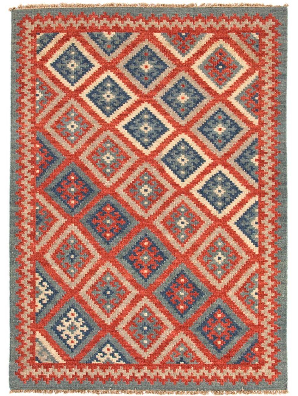 Leyti Rug Rugs Blue Tribal Rugs Wool Area Rugs Tribal Area Rug