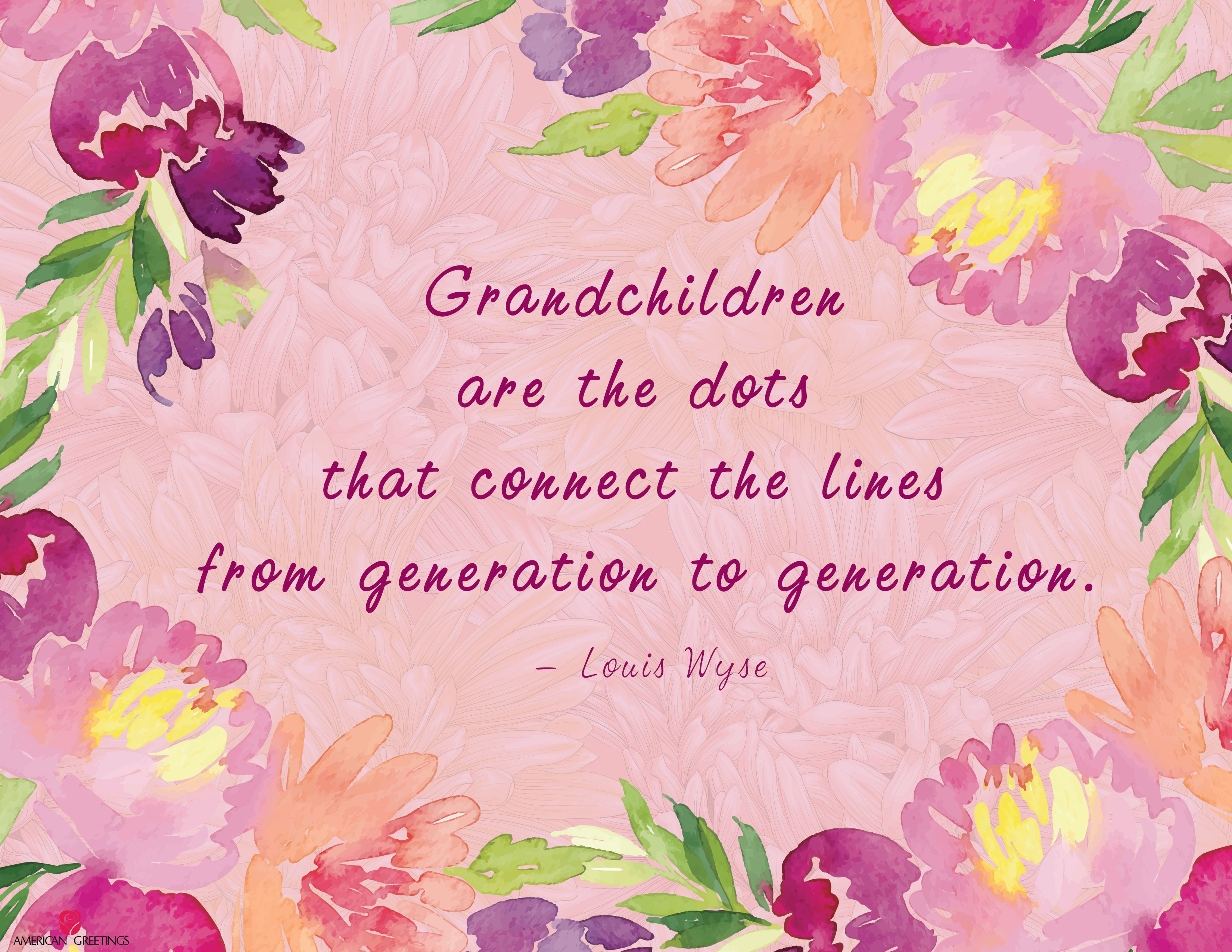 Grandparents Day Free Printable Quote | Children-Family ...