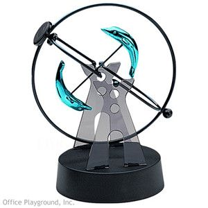 ScienceGeek Kinetic Mobile Dolphin Electronic Perpetual Motion