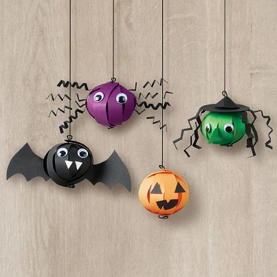 Halloween Bauble Ornaments Kit - These spooky Halloween characters - how to decorate home for halloween