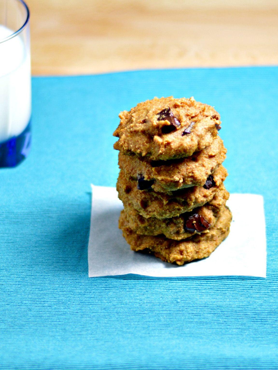 Sweet Potato Chocolate Chip Cookies   Oppskrift