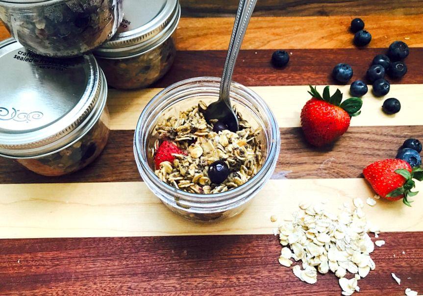21 day fix baked oatmeal oatmeal in a jar baked oatmeal