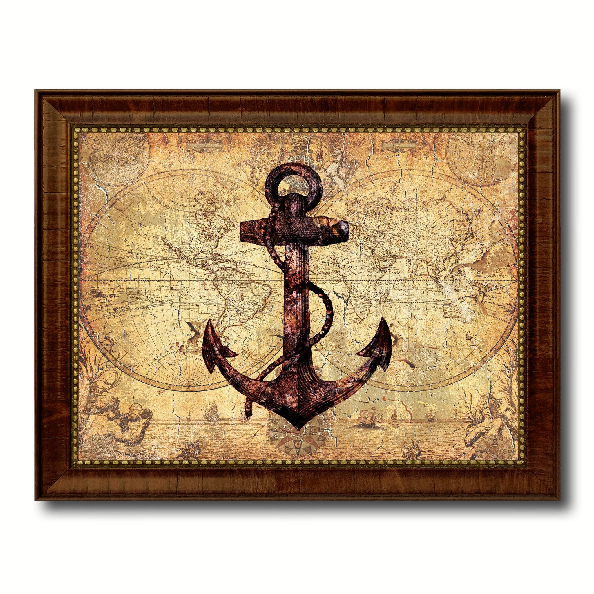 Amazing Nautical Wall Decorations Composition - Art & Wall Decor ...